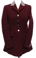 Ladies Burgundy Hunt Coats