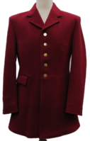 Mens Burgundy Hunt Coats