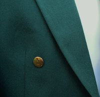 Green Evening Dress Tail Coats