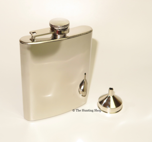 6oz Stainless Steel Hip Flasks