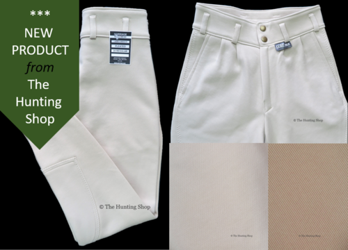 "*Ladies 24"" to 38"" Hunting Breeches - Exclusive Design"