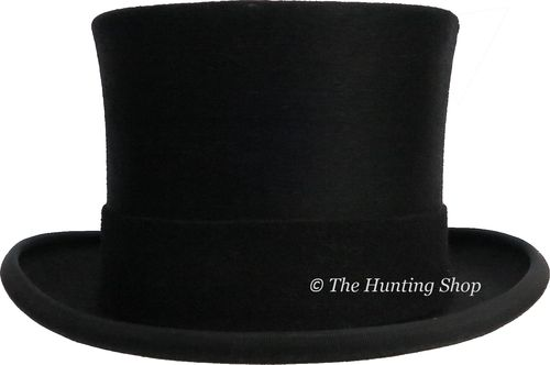 54cm Christys, Fur Melusine, Black Top Hat