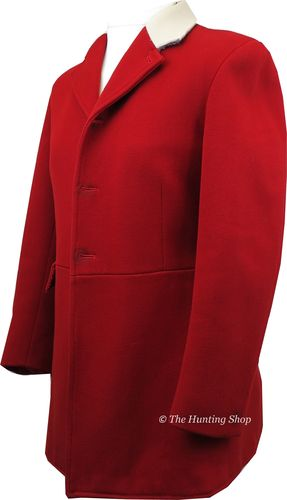 "Gents 40"" Mears, Scarlet Hunt Coat"