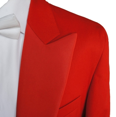 "Gents 36"" to 52"" Red Evening Dress Tail Coats"