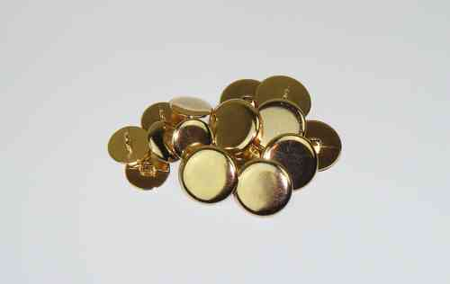 Brand New Plain Brass Buttons