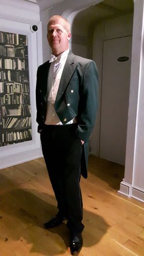 "Gents 38"" to 48"" Green Evening Dress Tail Coats"