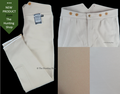 "Youths 26"" - 30"" Hunting Breeches in Brown or Beige"