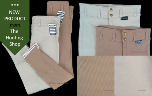 "Maids 24"" - 28"" Hunting Breeches in Brown or Beige"