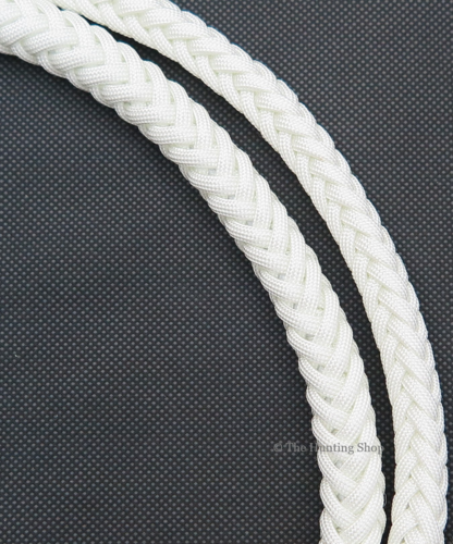Hunt Staff, White Nylon Whip Thongs