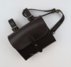 Brand New, Black or Brown Leather Saddle Bags