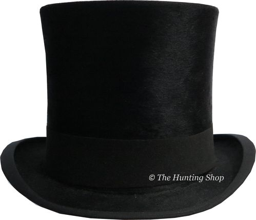 53cm Henry Heath, Black Silk Top Hat