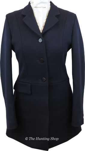 **The 'Lady Gregory' Hunt Coat in Black