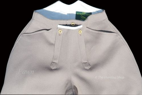 **Ladies Cavalry Twill Hunting Breeches