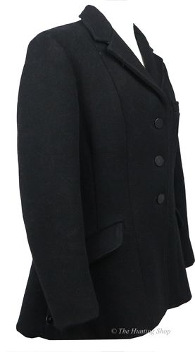 "Maids 32"" Matlock & Brown, Black Hunt Coat"