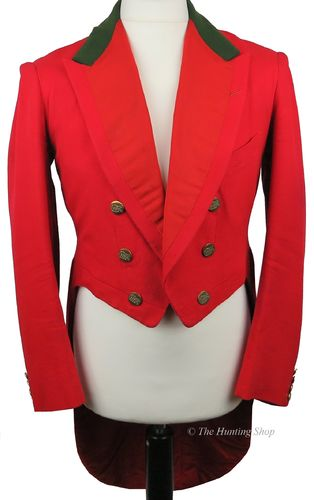 "Gents 38"" Scarlet Evening Tail Coat"