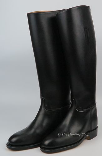 Size 4 Wide, Regent Leather Boots
