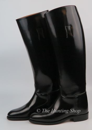 Size 4.5 Wide, Regent Leather Boots