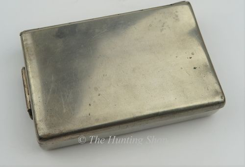 'Merry' Silver Plated Sandwich Tin