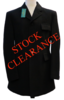 "Gents 42"" X Long, Mears 'Cottesmore' Black Hunt Coat"